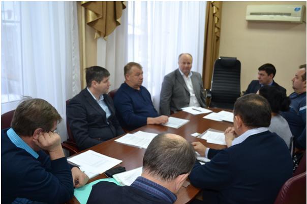 Встреча Михилева А.В. с руководителями семеноводческих хозяйств Курской области