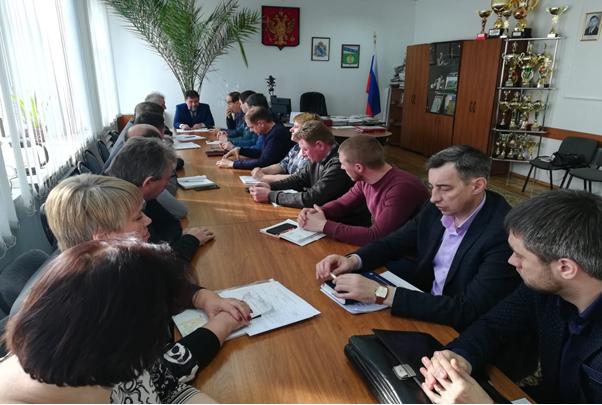Совещание в Курчатовском районе